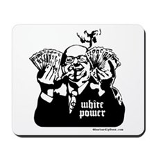White Power Mousepad