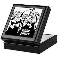 White Power Keepsake Box
