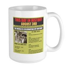 august 3td- birthday Mug