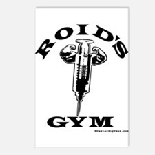 Roid's Gym Postcards (Package of 8)