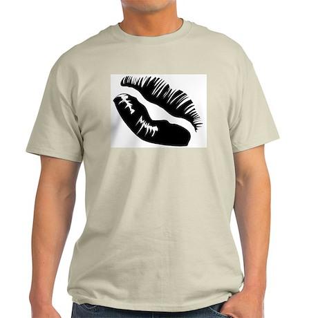 Vixen Lips & MWAH! Grey T-Shirt