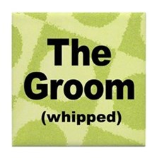 Whipped Groom Tile Coaster