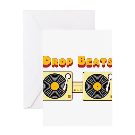 Drop Beats Greeting Card