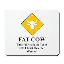FAT COW Mousepad