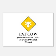 FAT COW Postcards (Package of 8)