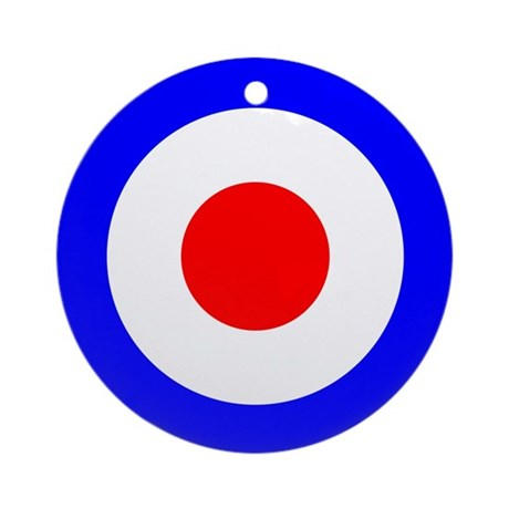 Mod Target Ornament (Round)