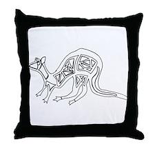 Kangaroo Simple Throw Pillow