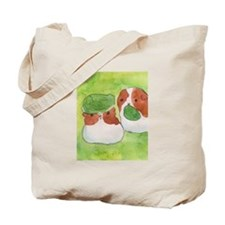 Guinea pigs and lettuce Tote Bag