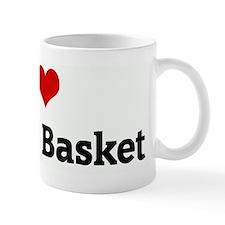 I Love Market Basket Mug