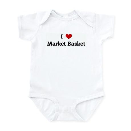 I Love Market Basket Infant Bodysuit