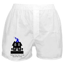 Telling Your Story Boxer Shorts