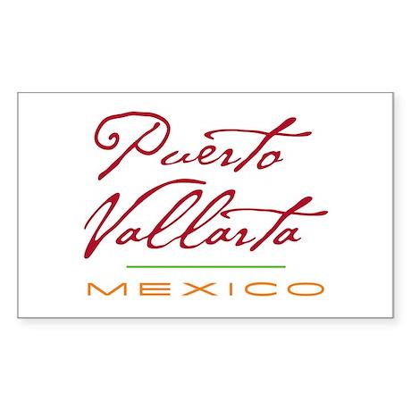 Puerto Vallarta - Rectangle Sticker