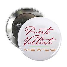 """Puerto Vallarta - 2.25"""" Button"""