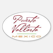 Puerto Vallarta - Oval Decal