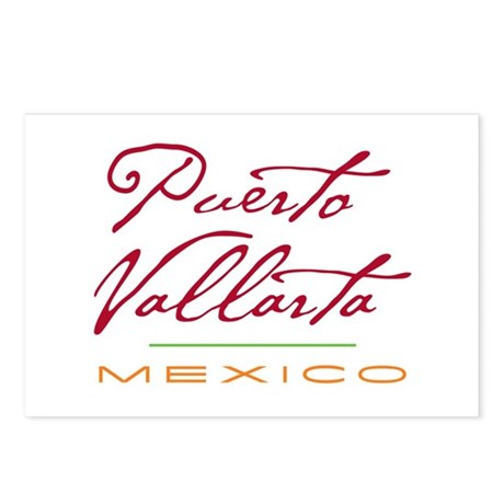 Puerto Vallarta - Postcards (Package of 8)