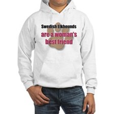 Swedish Elkhounds woman's best friend Hoodie