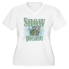 Snow Please Ski T-Shirt