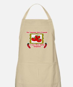 Framed Tomatoes BBQ Apron