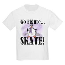 Penguin Figure Skating T-Shirt