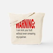 Warning: Tote Bag