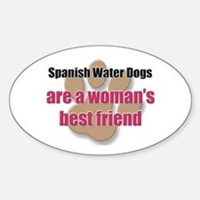 Spanish Water Dogs woman's best friend Decal
