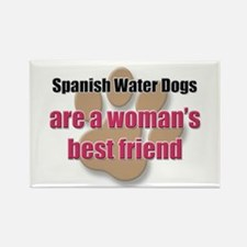 Spanish Water Dogs woman's best friend Rectangle M