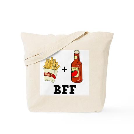 Ketchup & French Fries BFF Tote Bag