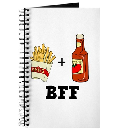 Ketchup & French Fries BFF Journal
