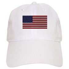 American Cloth Flag Baseball Cap