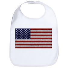 American Cloth Flag Bib