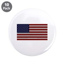 """American Cloth Flag 3.5"""" Button (10 pack)"""