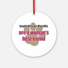 South African Mastiffs woman's best friend Ornamen