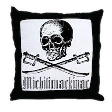Michilimackinac Pirate Throw Pillow