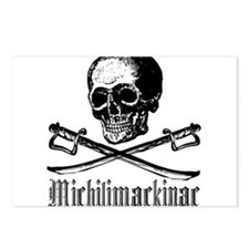 Michilimackinac Pirate Postcards (Package of 8)