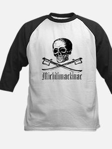 Michilimackinac Pirate Kids Baseball Jersey