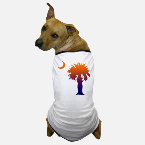 SC Palmetto Sunrise Dog T-Shirt