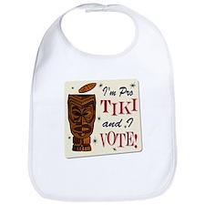 Pro Tiki Vote Bib