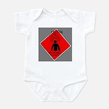 Inflammable Temper Infant Bodysuit