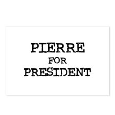 Pierre for President Postcards (Package of 8)