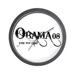 Obama Yes We Can Wall Clock