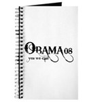 Obama Yes We Can Journal
