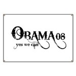 Obama Yes We Can Banner