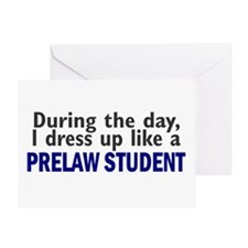 Dress Up Like A PreLaw Student Greeting Card