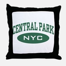 Central Park NYC Throw Pillow