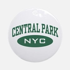 Central Park NYC Ornament (Round)