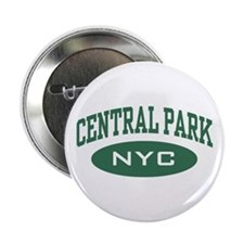 """Central Park NYC 2.25"""" Button"""