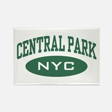Central Park NYC Rectangle Magnet