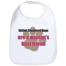 Shiloh Shepherd Dogs woman's best friend Bib