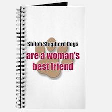 Shiloh Shepherd Dogs woman's best friend Journal
