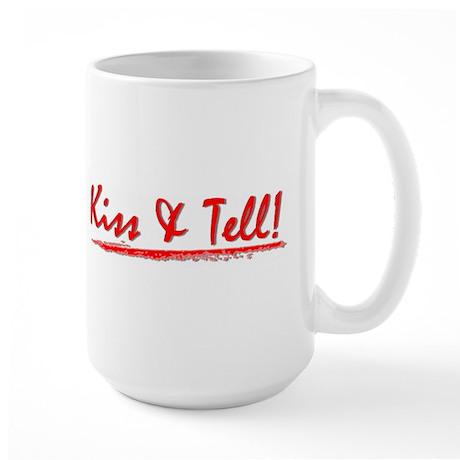 Large Kiss & Tell! Mug